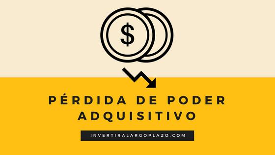 Pérdida de poder adquisitivo por la inflación (IPC)
