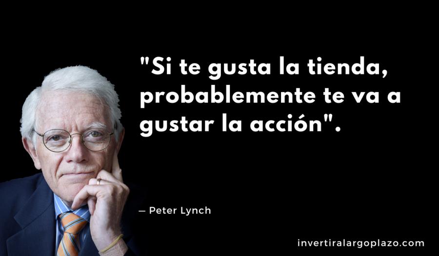 Peter Lynch: Si te gusta la tienda, probablemente te va a gustar la acción